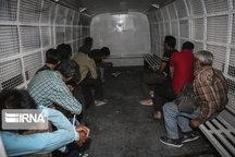 دستگیری ۲۵ متهم تحت تعقیب در سلسله