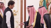 عکس/ برخورد تحقیر آمیز نخست وزیر پاکستان با پادشاه سعودی