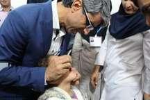 آغاز مرحله نخست ایمن سازی تکمیلی فلج اطفال در هرمزگان