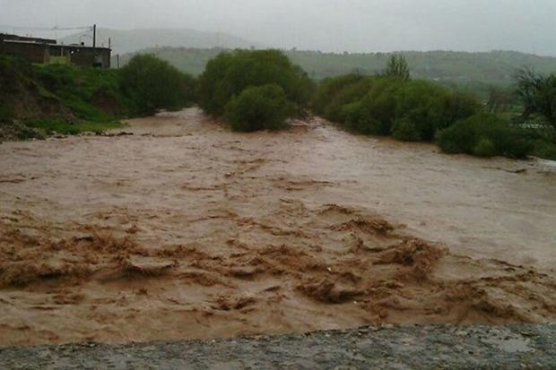 خطر بالا آمدن آب رودخانه ها در استان مرکزی وجود دارد
