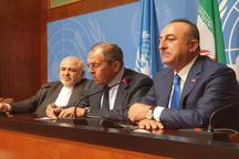 بیانیه مشترک وزرای خارجه ایران، روسیه و ترکیه پس از نشست ژنو