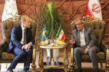 دبیر اول سفارت سوئد در ایران:شرایط مناسب برای توسعه همکاری بین دو کشور فراهم است