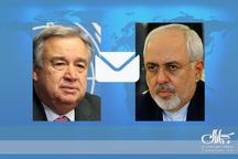نامه مهم ظریف به دبیرکل سازمان ملل در خصوص برجام