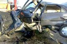 برخورد خودروی سمند با پیکان در محور یاسوج -اصفهان یک کشته برجا گذاشت