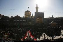تشرف چهار هزار هیات مذهبی به حرم رضوی