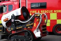 ربات آتش نشان ساخت قزوین به زودی به خدمت گرفته می شود