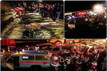اظهار همدردی آیت الله نورمفیدی با خانواده های جانباختگان حادثه اتوبوس تهران - گنبد