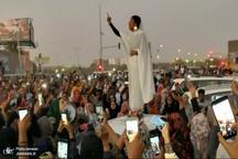 زنی که نماد انقلاب سودان شد+ تصاویر