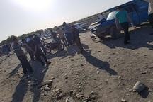 واژگونی موتورسیکلت در نیشابور یک کشته و یک مجروح بر جای گذاشت