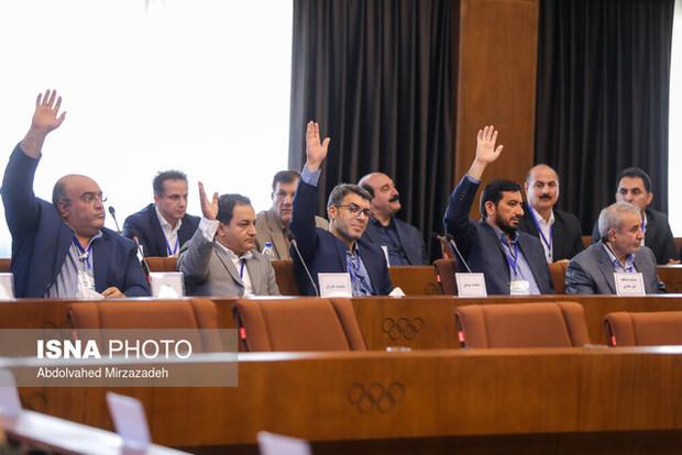 رییس هیات غایب در مجمع وزنه برداری استعفا داد