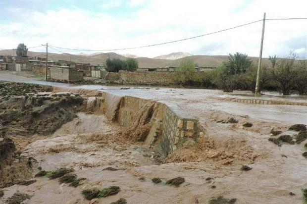 رهاسازی آب از رودخانه نیسان برای جلوگیری از سیل ادامه دارد