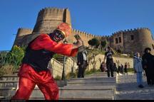 ١٦هزارو  ٥٨٧ گردشگر از قلعه فلک الافلاک خرم آباد دیدن کردند