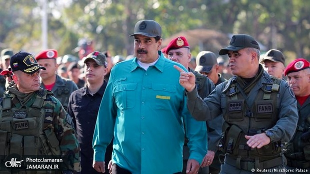 ارتش ونزوئلا پشت نیکولاس مادورو+ تصاویر