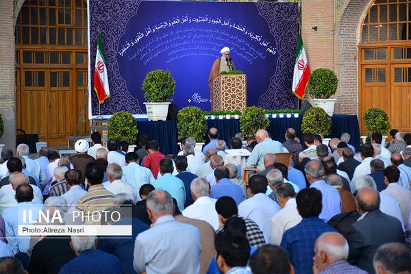برگزاری نماز عیدقربان در مسجد النبی قزوین