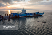 کاهش 208 سانتی متری تراز دریاچه ارومیه نسبت به دراز مدت