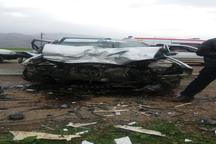 حادثه رانندگی در ایذه یک کشته و پنج مصدوم برجای گذاشت