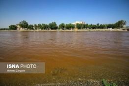 آژیر خطر زایندهرود!  قرمز شدن آب و اثرات سوء بر محصولات کشاورزی