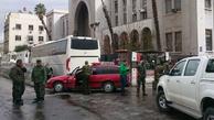 وقوع انفجار تروریستی در نزدیکی دمشق