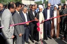 افتتاح چند طرح عمرانی در لاهیجان