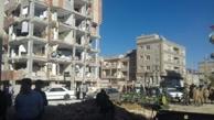 عکس/ تفاوت مسکن مهر با ساختمان شخصی ساز در زلزله دیشب