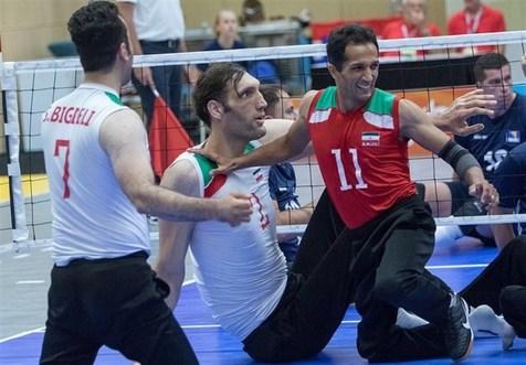 پنجمین پیروزی والیبال نشسته مردان ایران در قهرمانی آسیا