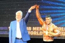 ورزشکار همدانی در مسابقات جهانی پرورش اندام طلایی شد