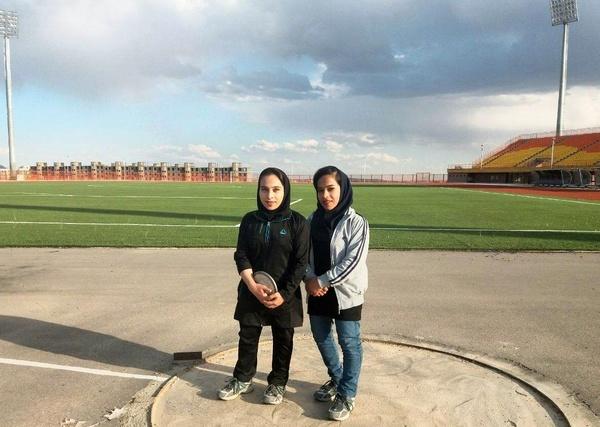 دعوت از دو بانوی دو و میدانی کار تربت حیدریه به مسابقات کشوری