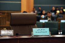 معرفی جانشین حاجتی،در دستور کار شورای شهر شیراز