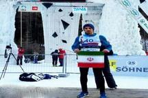 یخ نورد قزوینی به مرحله نهایی مسابقات جام جهانی صعود کرد