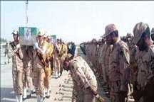 سیستان و بلوچستان در سوگ شهدای مرزبانی
