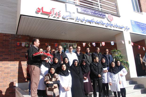 مرکز خدمات جامع سلامت روستایی «زرآباد» خوی افتتاح شد
