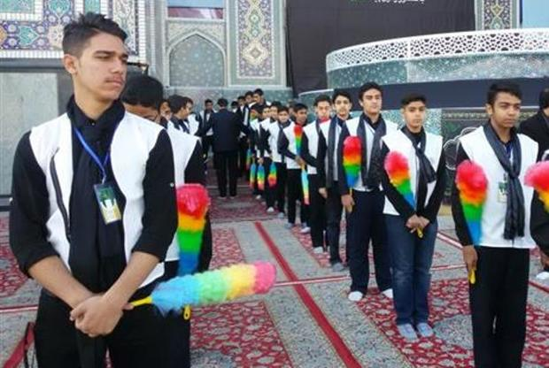260 نفر مهریزی خادم یار امام رضا (ع) شدند