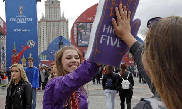 دیدگاه تماشاگران جام جهانی در مورد مسکو + تصاویر