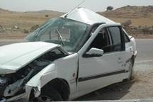 برخورد 2 خودرو در جغتای چهار مصدوم داشت