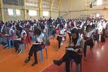 آزمون پنجمین دوره المپیاد 'طرح دادرس' در پارس آباد برگزار شد