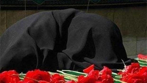 پیکر مادر شهید اینالو در فسا تشییع شد