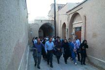 خبرنگاران از آثار تاریخی یزد بازدید کردند