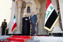 تماس تلفنی روحانی و رئیس جمهور عراق