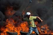 اعتراض، آتش، سنگ+ عکس