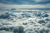 ابرهای بی باران همدان را فرا می گیرند