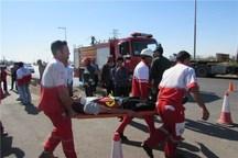 حادثه رانندگی در جاده کرج - چالوس 9 مصدوم برجای گذاشت