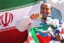 ورزشکار اصفهانی موفق به کسب مدال طلای رقابت های پارا دو ومیدانی لندن شد