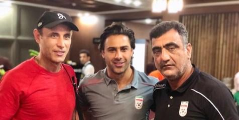 دیدار مجیدی و گل محمدی + عکس