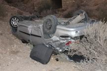 3 کشته و 6 زخمی حاصل واژگونی خودرو قاچاق انسان در جنوب سیستان و بلوچستان