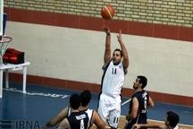 اردوی تیم ملی بسکتبال جوانان در رشت برپا شد