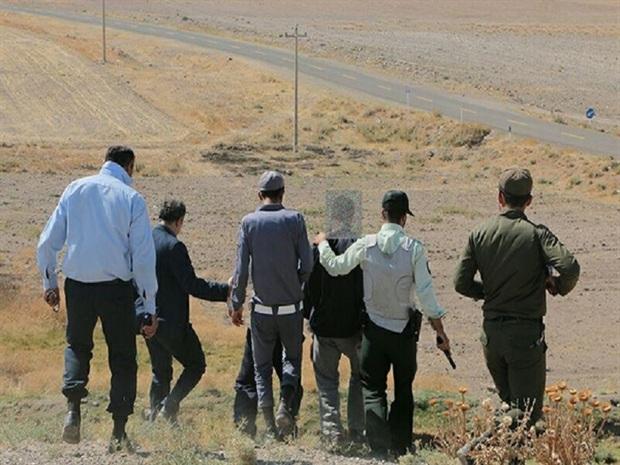 سه حفارغیرمجاز در فیروزه دستگیر شدند