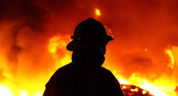 شدت حریق دو آتش نشان مشهدی را روانه بیمارستان کرد