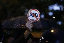 راهپیمایی علیه حزب ضداسلامی آلمان+ تصاویر