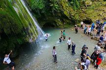 مسافران نوروزی به مهمانی جاذبه های علی آباد رفتند