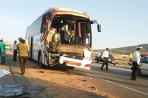 آتش سوزی نامعلوم اتوبوس بنز در سیستان و بلوچستان  حادثه کشته و مصدوم نداشت